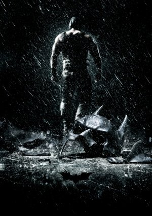 THE DARK KNIGHT RISES – US Textless Imported Movie Wall Poster Print - 30CM X 43CM Batman