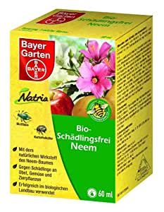 bayer bio sch dlingsfrei neem 60 ml garten. Black Bedroom Furniture Sets. Home Design Ideas
