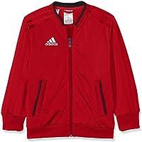 Adidas CON18 PES Chaqueta, Unisex Niños, Negro/Blanco (Rojo), 164