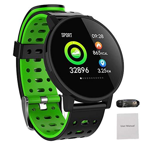 iBaste Smartarmband Intelligente Bluetooth Smartwatch Erinnerung der Sportkalorien Kalorien Herzfrequenz Intelligente Armbanduhr Fitness Tracker Sport Uhr Alarme Kompatibel mit Android 4.4 iOS9.0 und
