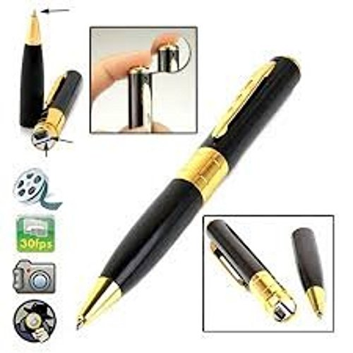 GKP Products ® HD Quality Pen Camera Video/ Audio Hidden Recording,HD Sound Clearity Pen Camera With 16GB Memory