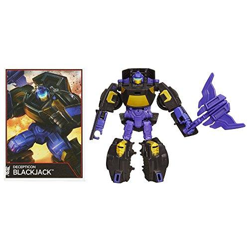 Transformator-spielzeug Sammlung (Transformers Generationen Combiner Wars Legends Class–DECEPTICON Blackjack–Figur)