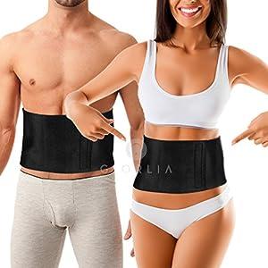 Faja cinturón para adelgazar, reductora de peso y moldeadora para la cintura, ajustable de neopreno, para Hombres y Mujeres, recomendado adelgazante abdominal.