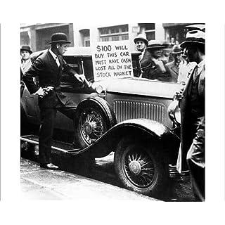 Media Storehouse 10x8 Print of New York Stock Market Crash October 1929 (11213991)