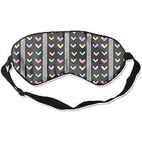 Comfortable Sleep Eyes Masks Colorful Polka Dot Heart Pattern Sleeping Mask For Travelling, Night Noon Nap, Mediation... preisvergleich bei billige-tabletten.eu