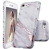 Doujiaz Coque pour iPhone 5, 5S, Motif marbre, coque en silicone doux Pour iPhone 5...