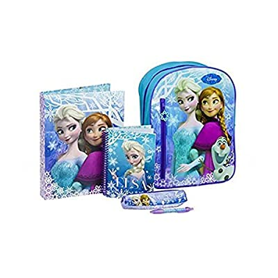 Girls Frozen Back Pack Includes Stationary and More