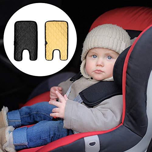 lembrd Baby Heizauflagen Auto Beheizte Sitzkissenbezug, 12 V Auto Kind Heizkissen Winter Kindersitz Heizkissen Baby Autositzbezug