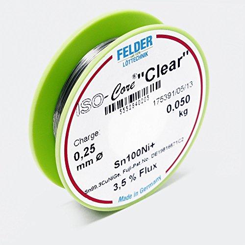 felder-ltdraht-iso-core-ltzinn-clear-05mm-01kg-sn100ni-sn993cunige
