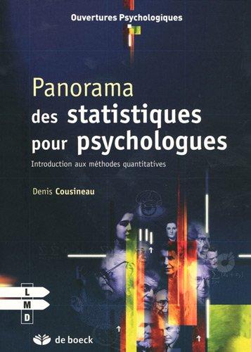 Panorama des statistiques pour psychologues : Introduction aux méthodes quantitatives