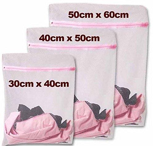 1 Stk Netz Wäschesack, Dessous Taschen für Wäsche, Reisen Speicher organisieren, Passen für Socken, BH, Unterwäsche, Kleid, Bluse usw, 40 * 30 cm -