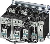Siemens Indus.Sector Stern-Dreieck-Kombination 3RA1434-8XC21-1AL2 230AC,22/30KW/400V Baugröße S0;Baugröße S2 Schützkombination 4011209377844