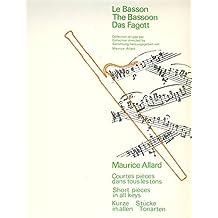 Partitions classique BILLAUDOT ALLARD MAURICE - COURTES PIECES DANS TOUS LES TONS : N.23 AIR RYTHME N.24 LEGENDE - BASSON ET PIANO Basson