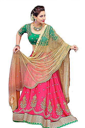 Finix Fashion Women's Party Wear Embroidered Work New Bollywood Fashion Collection Lehenga...
