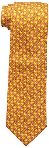 Peanuts Woodstock Allover Herren-Krawatte - Orange - Einheitsgröße