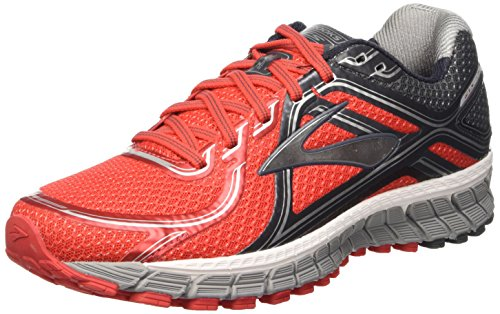 Brooks Adrenaline Gts 16 - 110212 1d 633, Chaussures de Trail homme Rouge (Red/Anthracite/Silver 633)