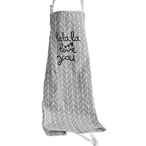 G2PLUS Femme de cuisine Tablier tabliers de cuisine, jardin, Pâtisserie, Chef d'atelier Tablier avec 2 poches