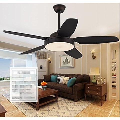 Weathervane-Ventilador-de-techo-Retro-Restaurante-Luz-de-ventilador-Simple-Moderno-antiguo-LED-Fan-Chandeliers-Silencioso-Ahorro-de-energa-Aseguramiento-de-la-calidad-Blanco-tricolor-Luz-LED-Fuente-de
