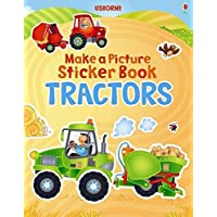 Tractor (Usborne Make a Picture Sticker Book) (Make a Picture Sticker Books)