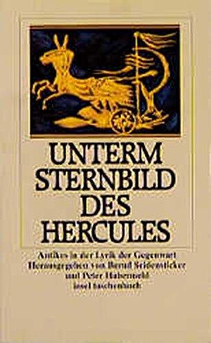 Sternbild des Herkules: Antike Bilder in moderner Lyrik (Insel-Taschenbücher)