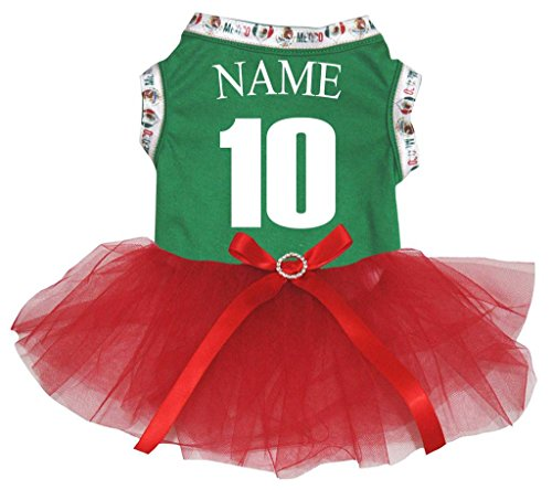 Petitebelle Puppy Hund Kleidung Nr. 10Personalisieren National Kleid