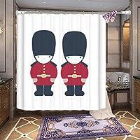 GFYWZ Oggettistica per la casa doccia tenda bagno impermeabile tessuto