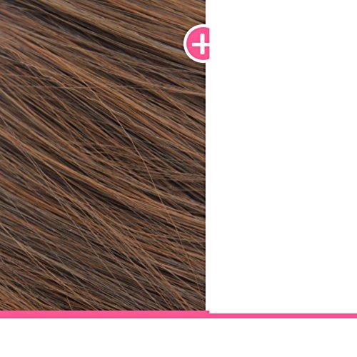 Frau Scroll-Perücke/Luft knallt heiß Mais/Blätterteig Welle Haar langen lockigen Lady Perücke-H (Frau Pimp Kostüm)