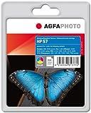 AgfaPhoto APHP57C Tinte für HP DJ5550, 24 ml, farbig