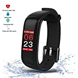 Activity Tracker Sport Braccialetto Intelligente Impermeabile Nuoto Cardio,Braccialetto Fitness con...