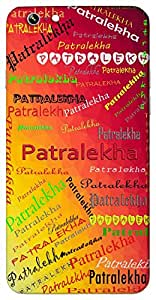 Patralekha (name from ancient epics) Name & Sign Printed All over customize & Personalized!! Protective back cover for your Smart Phone : Google Pixel XL