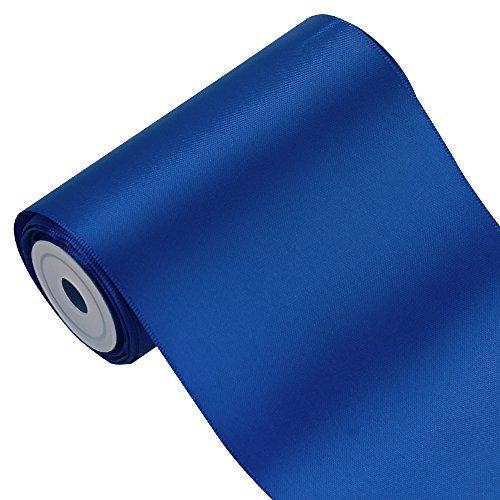 laribbons 10,2cm breit Farbe Double Face Satinband Ideal für Stuhl sash- 5yard/Spule -