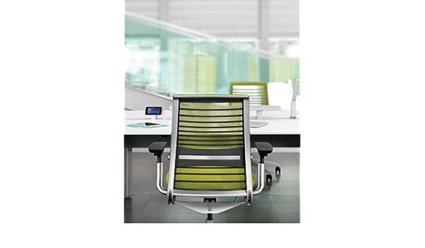 Sedia Ufficio Verde Mela : Sedia da ufficio new think von stee lcase verde mela con schienale