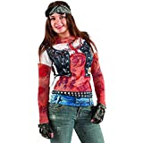 Camiseta rockera tatuajes mujer