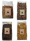 4x PALEO Nudeln LOW CARB Pasta GLUTENFREI Gourmet Delicatesse 4x 250g aus 4 verschiedene Mehlsorten...