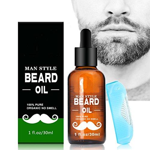 Bartöl, Luckyfine die Bartpflege zum Bart Weichmacher-Wirkung Conditioner für Männer, 30 - Conditioner Weichmacher