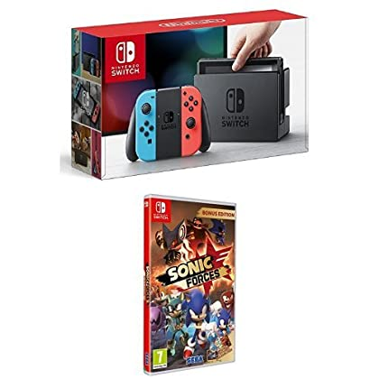 Nintendo Switch - Consola color Azul Neón/Rojo ...