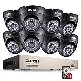 ZOSI 8CH 720P DVR con 8 Cámaras Sistema - Best Reviews Guide
