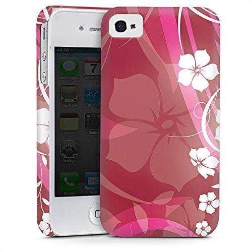 Apple iPhone 5 Housse Étui Silicone Coque Protection Fleurs Fleurs Vrilles Cas Premium mat
