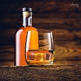 Amazy Whisky Steine, 9, Speckstein/Edelstahl - 4