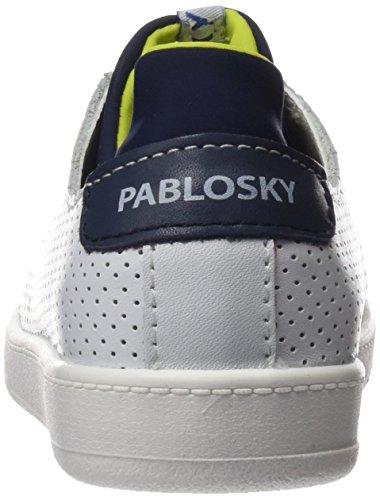 Pablosky - 261901, Scarpe sportive Bambino Bianco