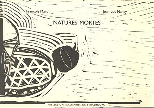 Natures mortes. douze variations par François Martin
