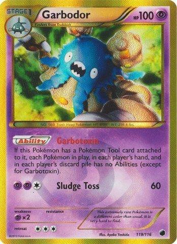 Pokemon - Garbodor (119/116) - Plasma Freeze by Pokemon USA, Inc.