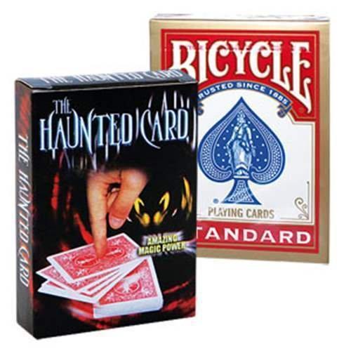 Solomagia the haunted card (gimmick e mazzo) - trucchi con le carte - giochi di prestigio e magia