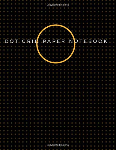Dot Grid Paper Notebook: Dot Grid Paper Graph Dotted Journal Notebook Large 8.5 x 11 inches - 104 pages (Volumn 36)