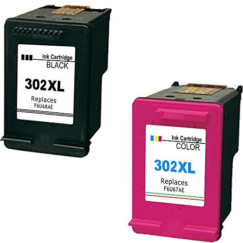 Daryo HP 302 XL Druckerpatrone Remanufactured für HP DeskJet 1110 2130 3630 Schwarz / Dreifarbig