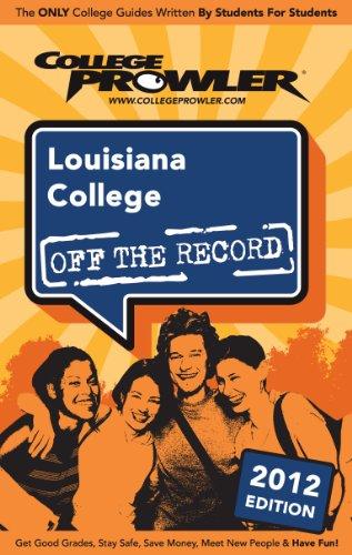 Louisiana College 2012 (English Edition) (Amazon Bär 2012)
