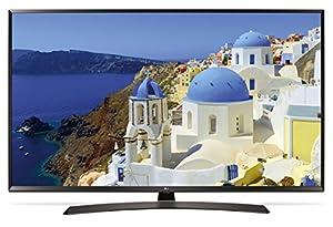 "LG 43UJ634V 43"" 4K Ultra HD Smart TV Wi-Fi Black LED TV - LED TVs (109.2 cm (43""), 4K Ultra HD, 3840 x 2160 pixels, LED, Flat, 16:9)"