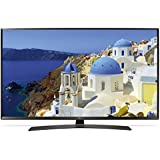 "LG 49UJ634V 49"" 4K Ultra HD Smart TV Wi-Fi Black LED TV - LED TVs (124.5 cm (49""), 3840 x 2160 pixels, LED, Smart TV, Wi-Fi, Black)"