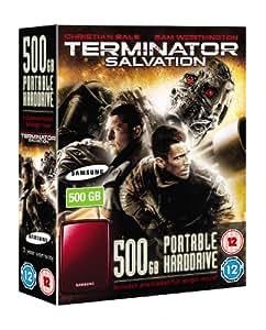 Samsung S2 500GB Portable USB 2.0 Hard Drive ( Terminator Salvation Full Length Movie Pre-loaded on Drive )