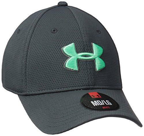 Under Armour Blitzing Ii Herren Sportswear Caps, Stealth Grey/Green, M/L Green Baseball-kappe